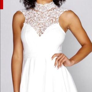 White Homecoming Dress New